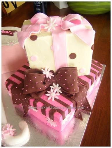 umbrella cake gift boxes