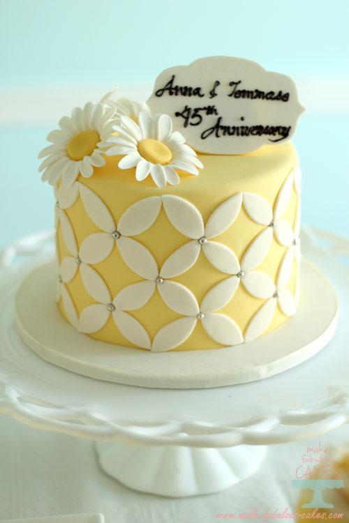 45th Anniversary Cake